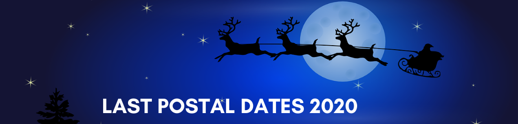 Last Postal Dates For Christmas Delivery 2020