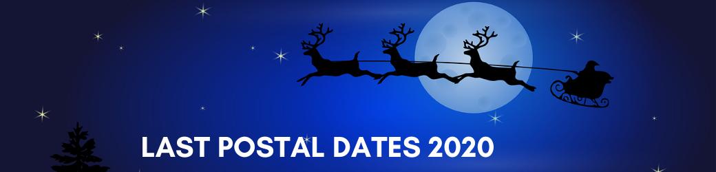 Last Postal Dates 2020 Header