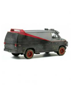 A-Team Diecast Model 1/24 1983 GMC Vandura (Weathered With Bullet Holes)