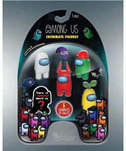 Among Us Crewmates 5-Pack Mini Figures