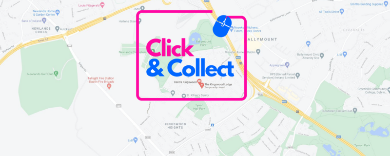 Click & Collect Front Page Banner