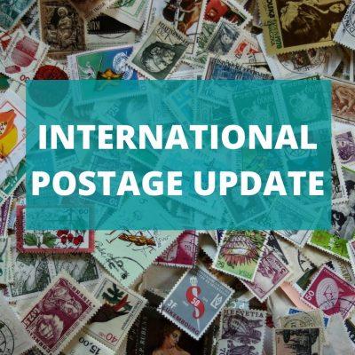 International Postage Update